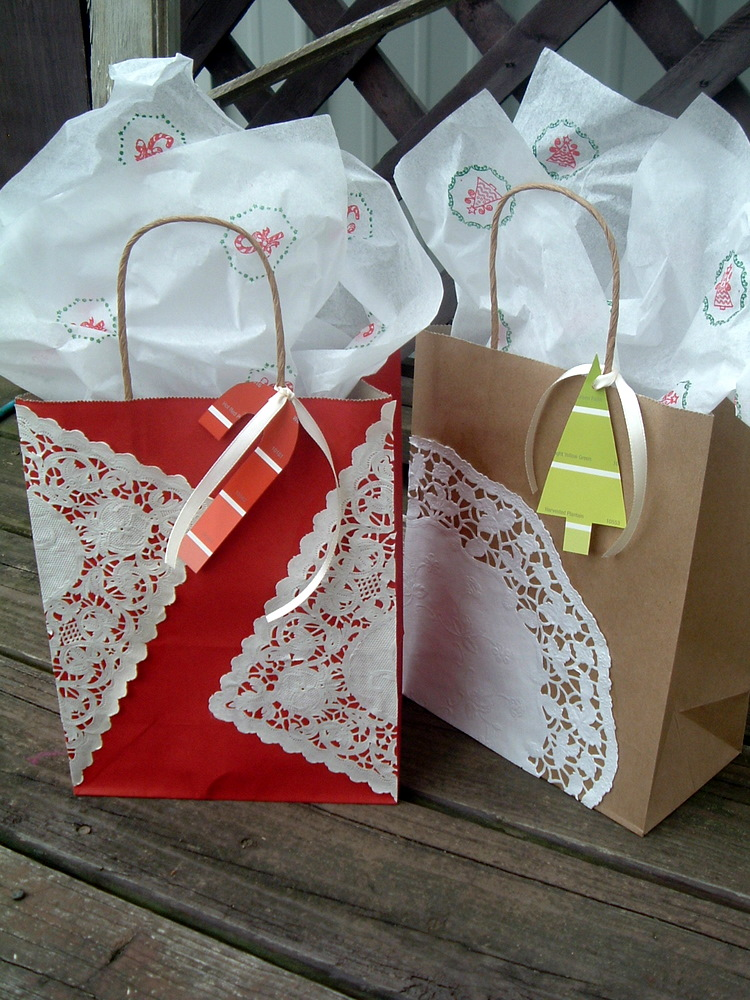 handmade gift wrap the country chic cottage