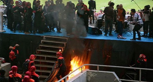 [Video] Insiden Bunuh Diri May Day 2015 Di GBK