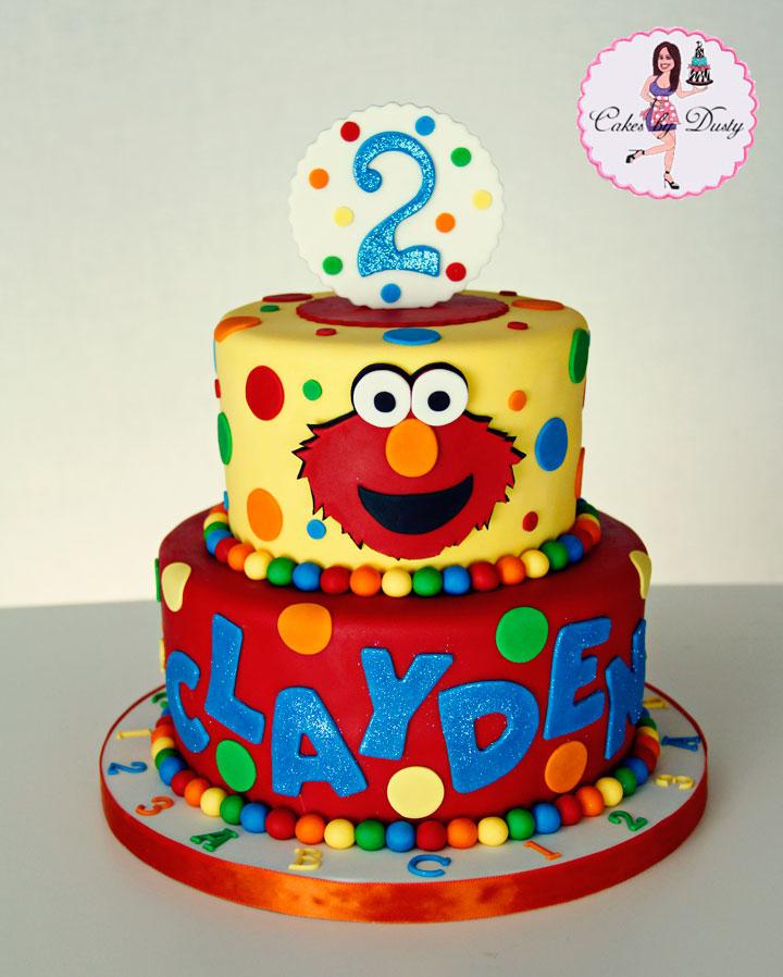 Cakes by Dusty: Clayden s Elmo Cake