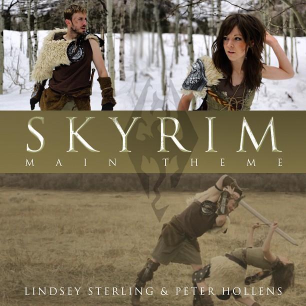 Скачать песню skyrim main theme на русском