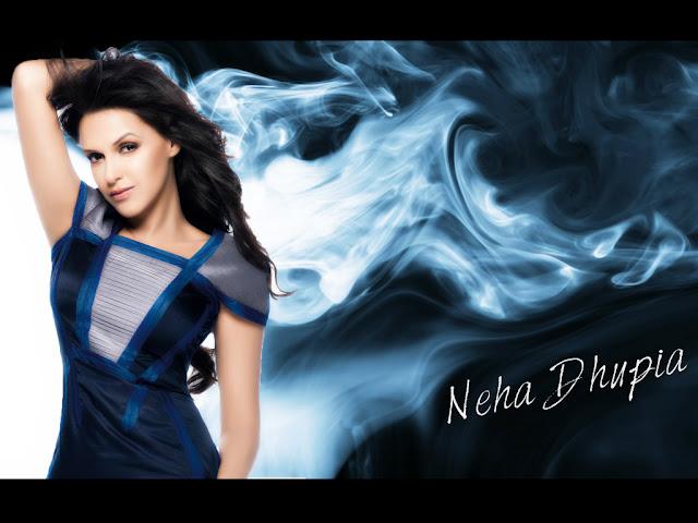 Neha Dhupia HD Wallpaper