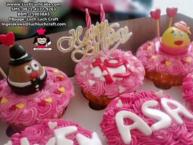 Cupcake romantis untuk pacar