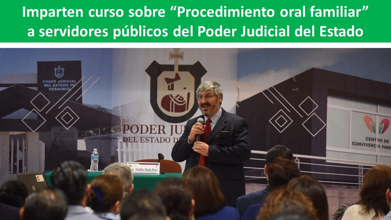 """Procedimiento oral familiar"""