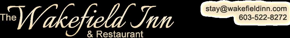 Wakefield Inn & Restaurant Blog