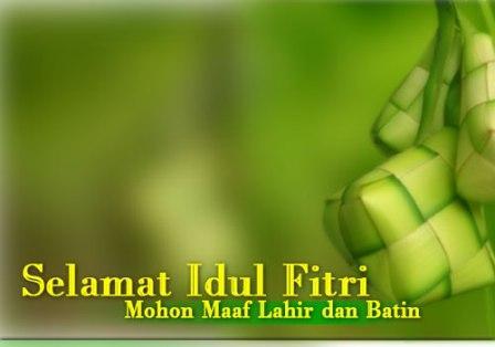 Suasana Lebaran: Selamat Hari Raya Idul Fitri