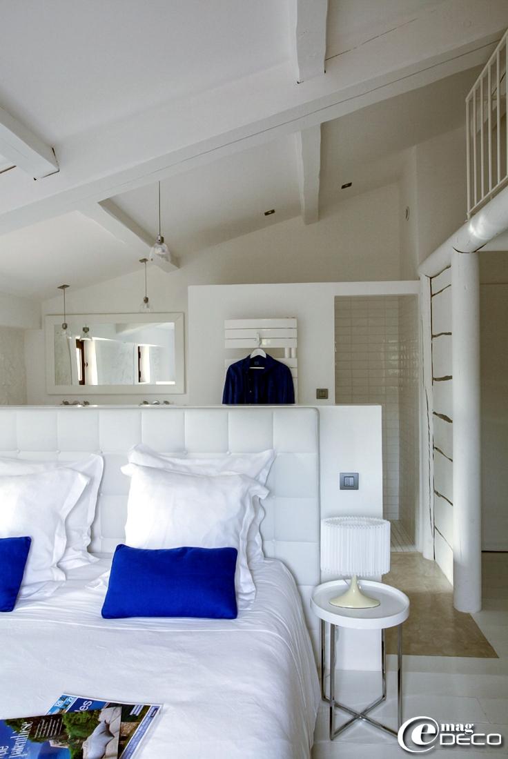 Chambre de la maison d'hôtes de charme 'La Bergerie de Nano' dans le Vaucluse