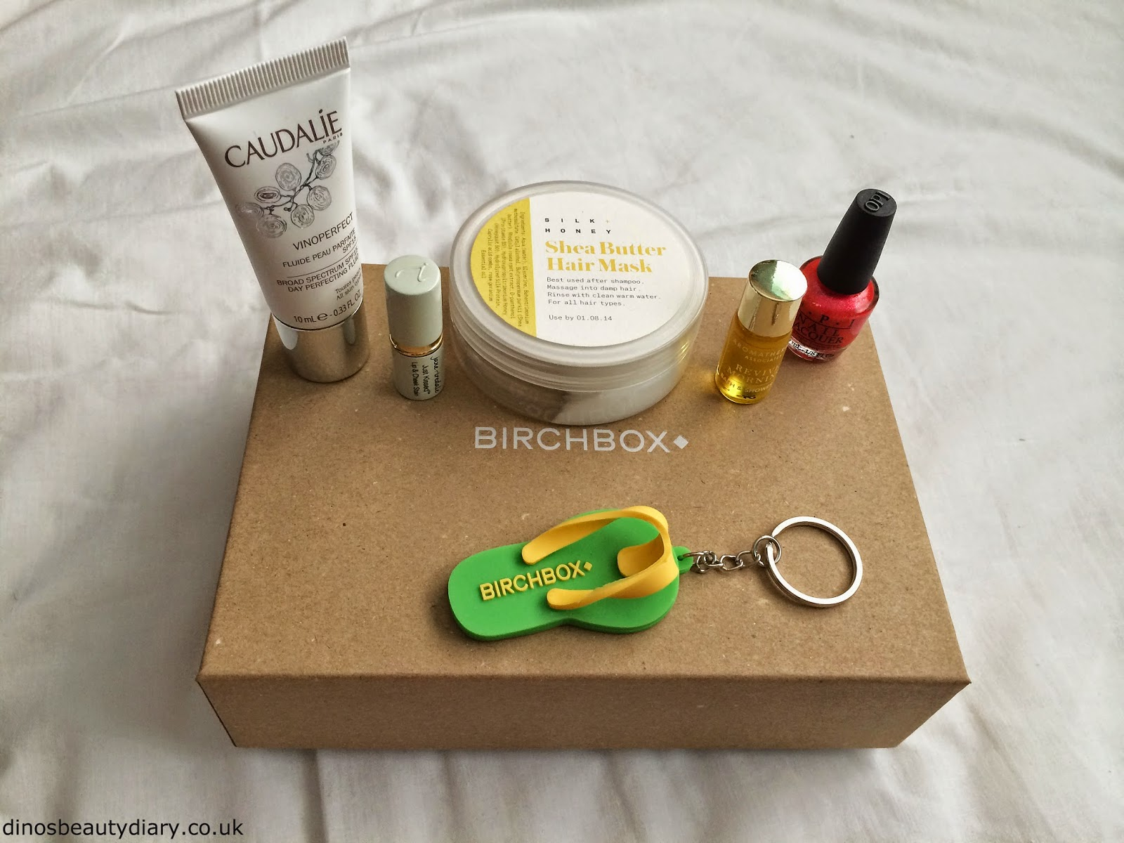 Dinos Beauty Diary - June and July Birchbox - June Birchbox