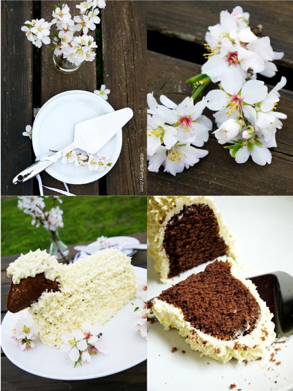 Easy Easter Lamb Cake Recipe & White Easter Decor
