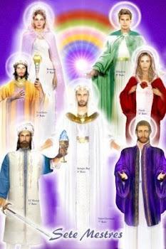 Os 7 mestres da Luz Cósmica