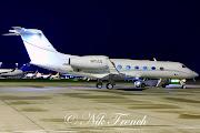MAN 22nd April 2013G450 N111CQ. Arriving early morning, G450 N111CQ was . (cqaa)