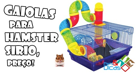 Gaiolas para hamster sirio preço