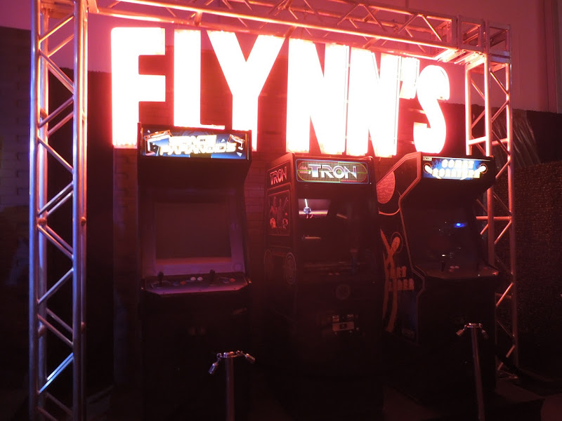 Flynns Arcade game props Tron Legacy