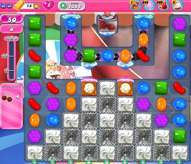Candy Crush Saga 1381