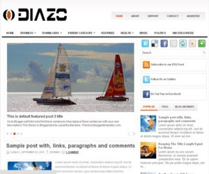 Diazo Blogger Template