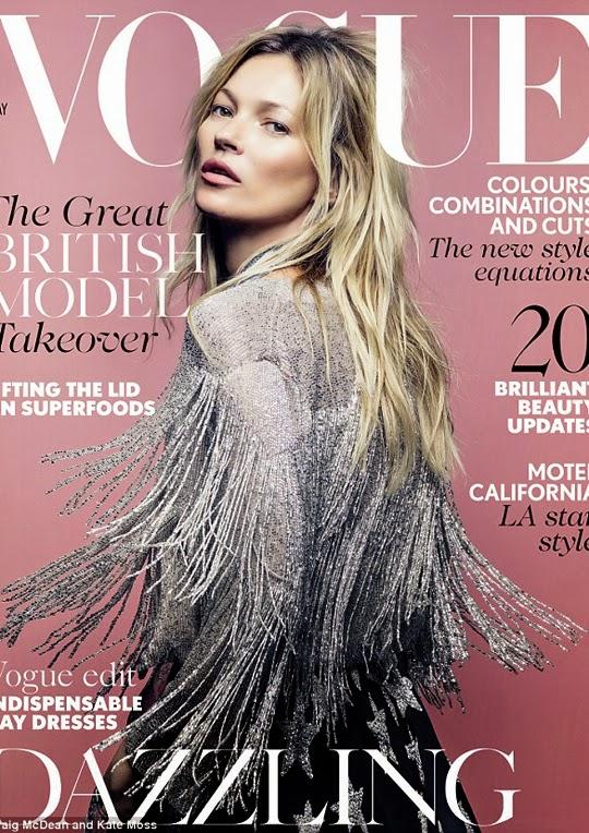Kate Moss Vogue UK 2014