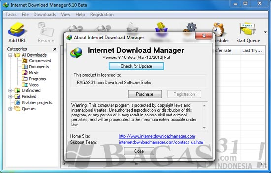 Internet Download Manager 6.10 Beta Full Patch 2