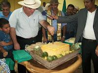 El ministro de la SAG Jacobo Regalado en la inuguracion de EXPOSAGO 2011