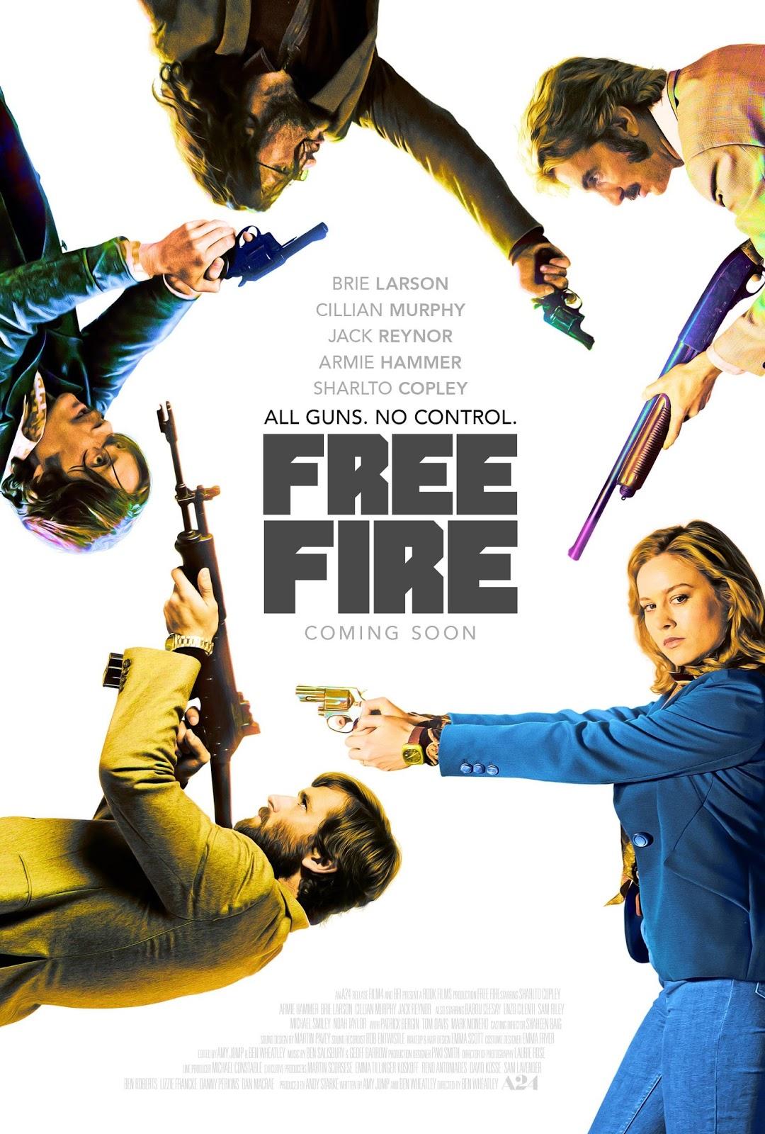 Free Fire – O Tiroteio Dublado