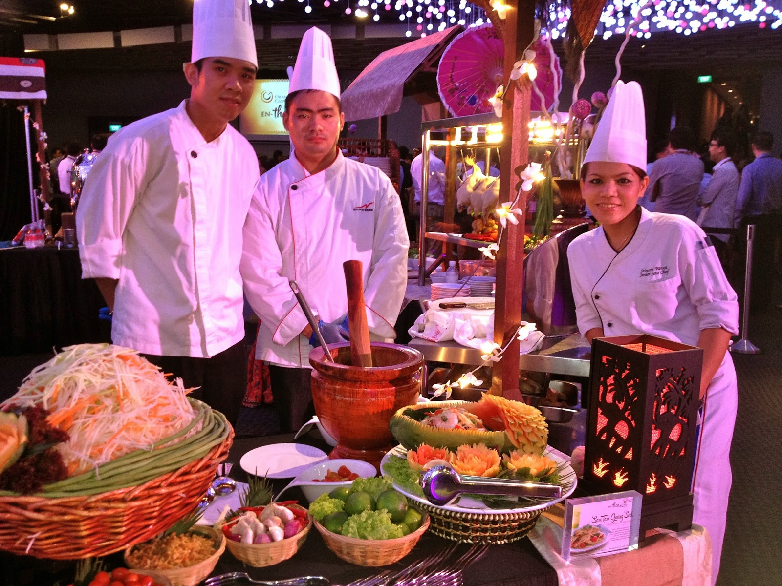 Orange Clove Thai Buffet Catering