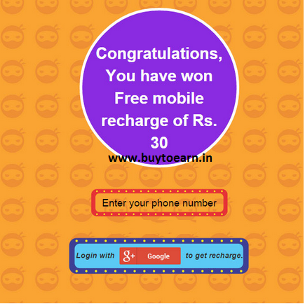 Play zopper game and get free Rs 100 , Rs 30 , Rs 20 recharge