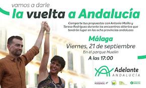 Encuentro con Teresa Rodríguez y Antonio Maillo