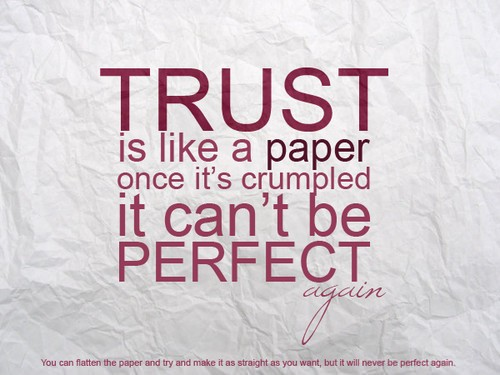 Broken Trust Quotes. QuotesGram