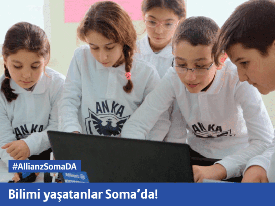 Bilimi yaşatanlar Soma'da!