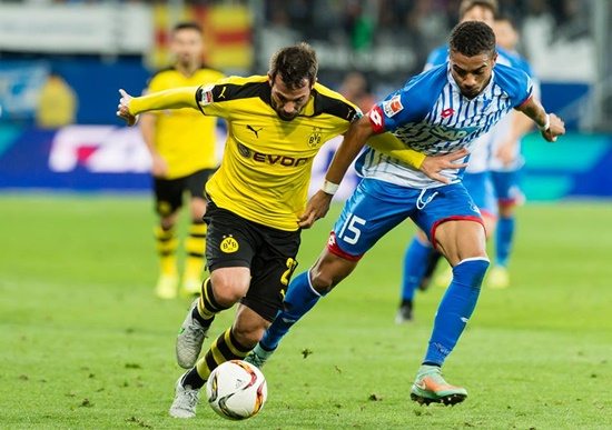 Hoffenheim 1 x 1 Borussia Dortmund - Campeonato Alemão(Bundesliga) 2015/16