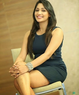 Actress Kesha Khambhati Laest  Pictures in Short Dress at Best Actors Press Meet  4
