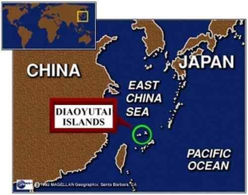 Pulau Sengketa Diaoyu / Senkaku