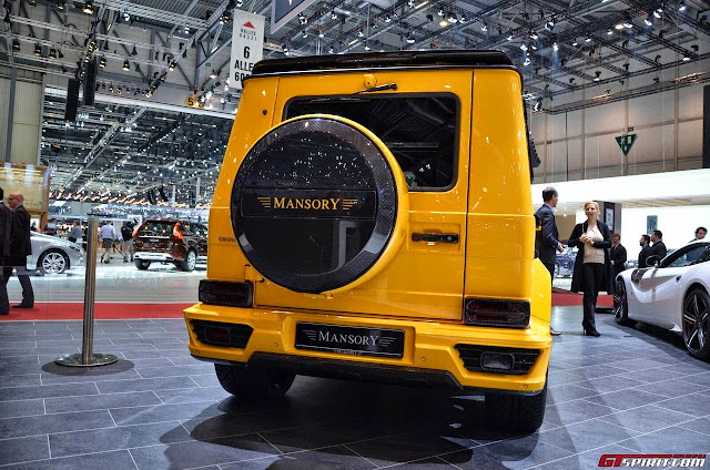gelandewagen yellow