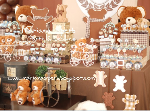 1000 Images About Teddy Bear Party Theme On Pinterest