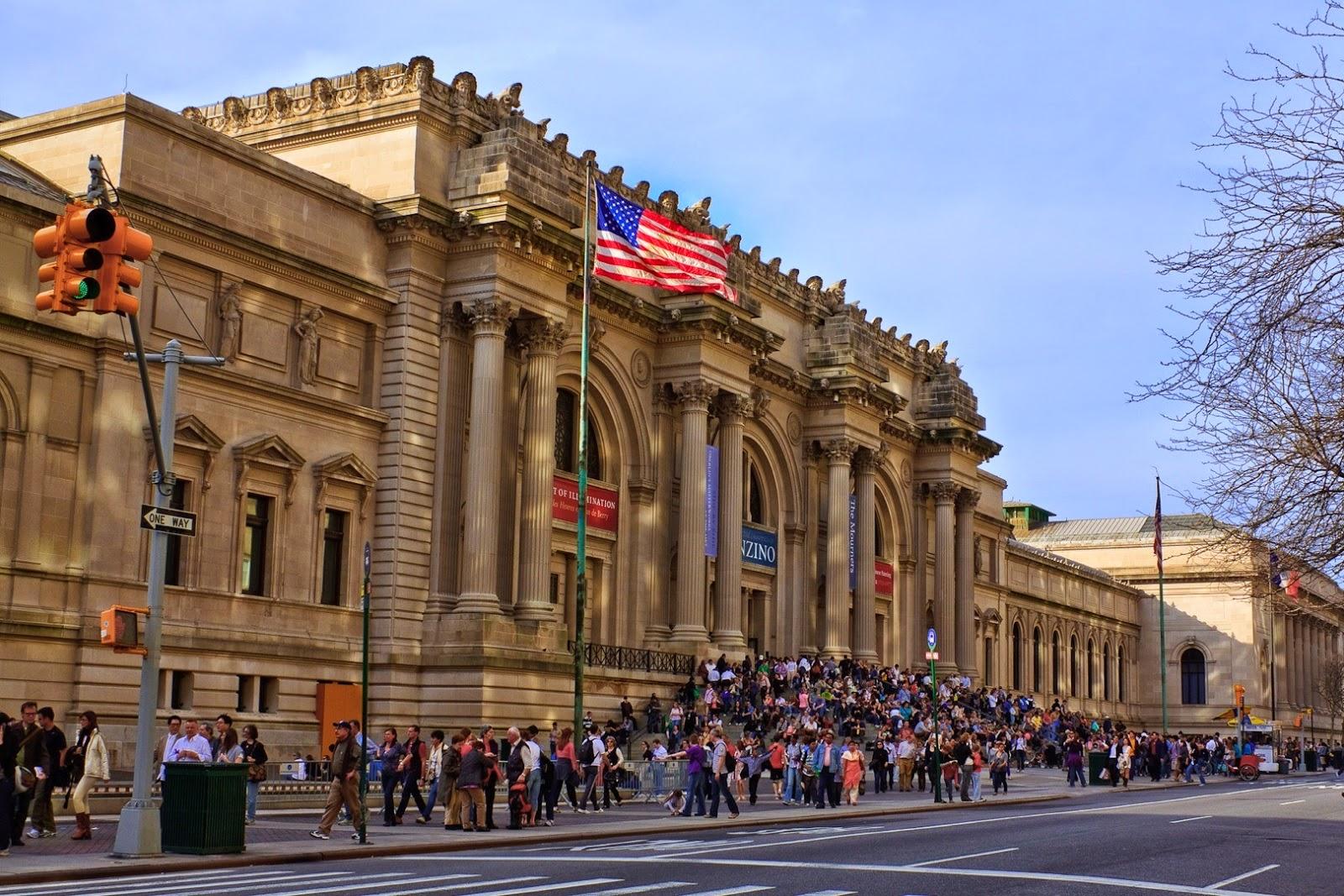 Mundo de papel os 10 pontos tur sticos de nova york que for Nyc metropolitan museum of art