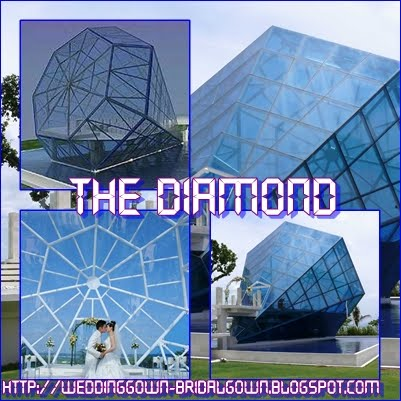 and the uniquest Diamond Shape Wedding Chapel in the world