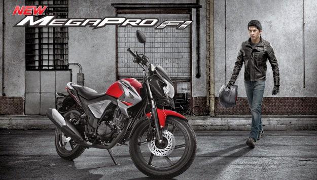 Motor Honda Mega Pro FI