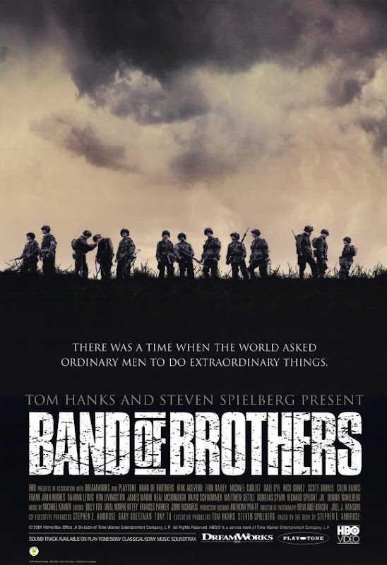 Band of Brothers TV poster