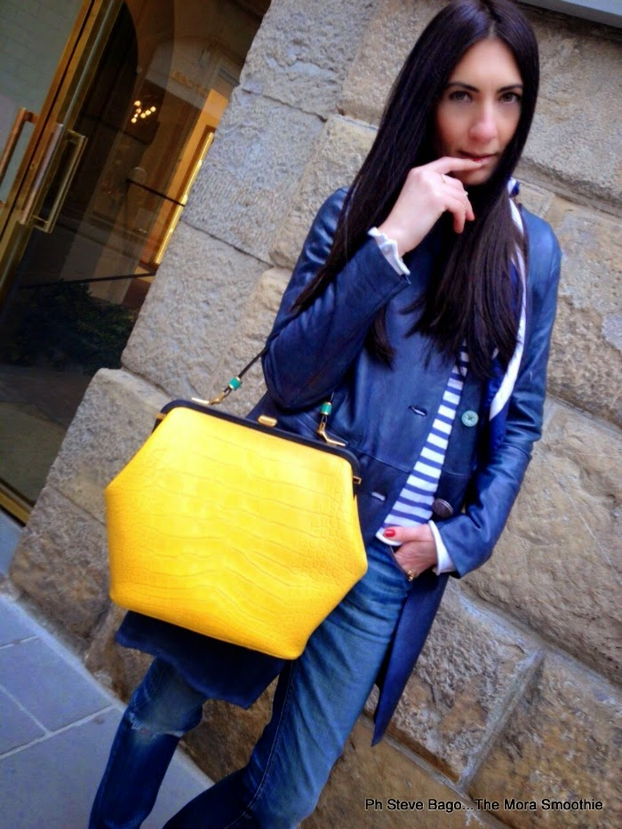 themorasmoothie, fashionblog, fashionblogger, blogger, italianblogger, bloggeritaliana, fashionbloggeritaliana, italianfashionblogger, veneziani, joleveneziani, veneziani bag, borsa veneziani, maliparmi, maliparmi coat, girl, model, shopping, shopping on line, firenze, florence, outfit, look, ootd, lokoftheday, outfitoftheday, ss15, borsa gialla, street style, outfit museo, paola buonacara