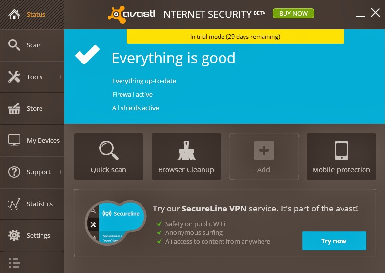 Avast Internet Antivirus 2014 Full Serial