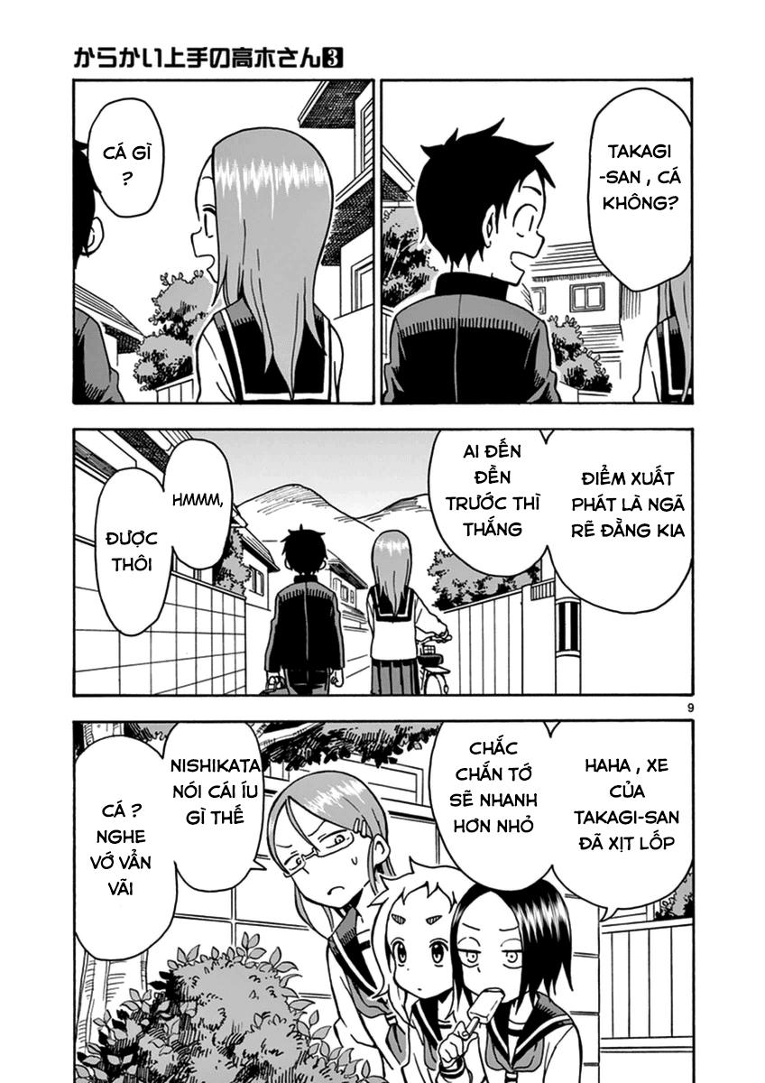 Karakai Jouzu no Takagi-san chap 26 Trang 9 - Mangak.info