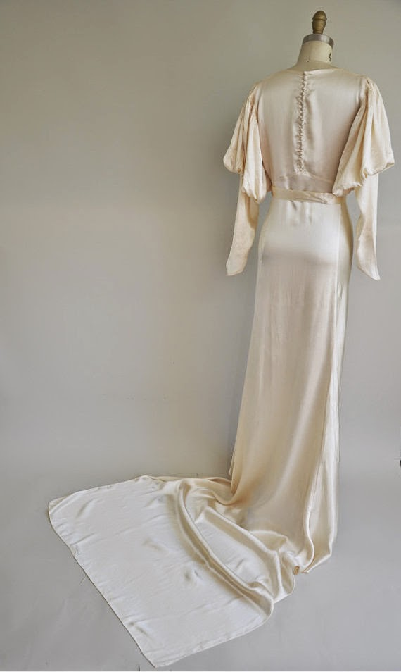Vintage 1930s Wedding Dress: Affordable Wedding Dresses - 1930s