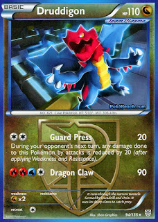 Druddigon Plasma Storm Pokemon Card