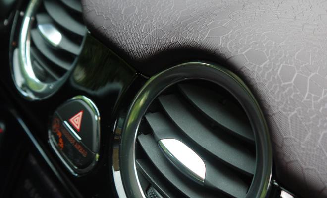 Vauxhall Adam dashboard texture