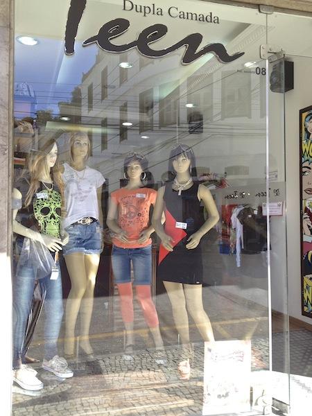 LOJA DE ROUPAS DE ADOLESCENTES - DUPLA CAMADA TEEN