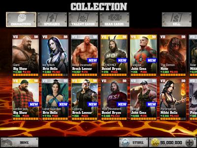 WWE Immortals v1.4.0 MOD APK+DATA