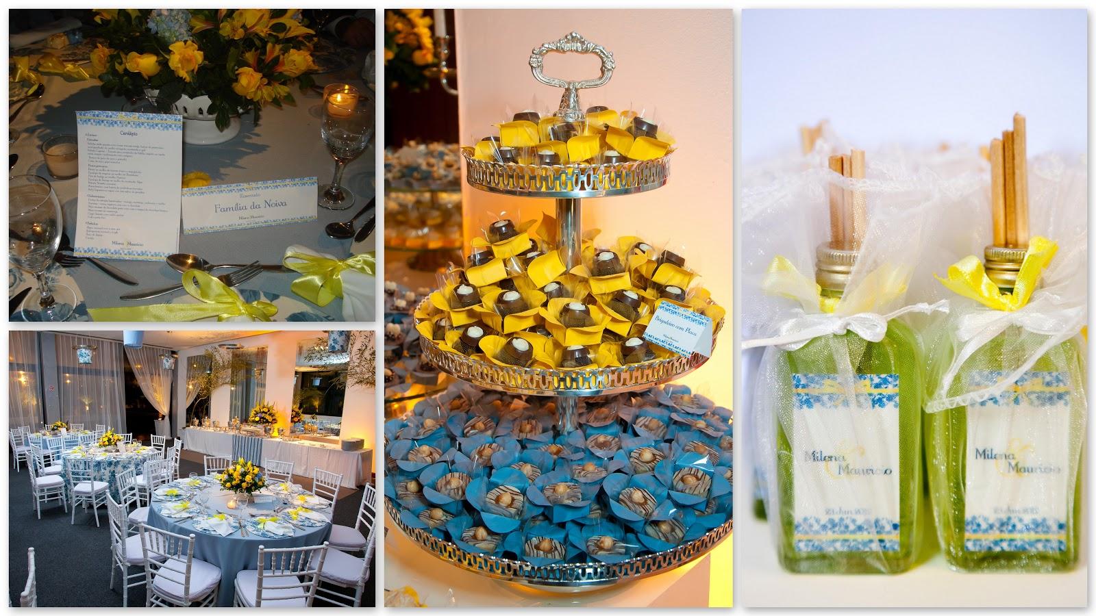 decoracao de casamento na igreja azul e amarelo:31 de out de 2012