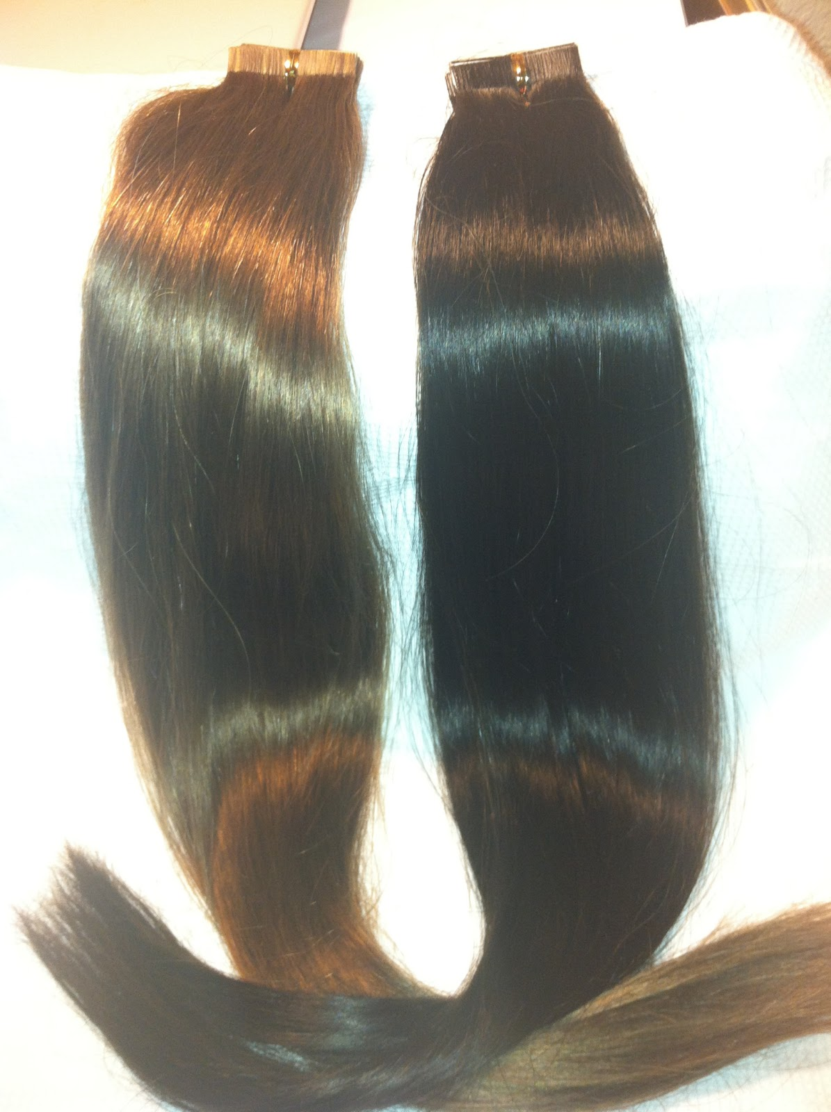 Glam Seamless Tape Extensions Triple Weft Hair Extensions