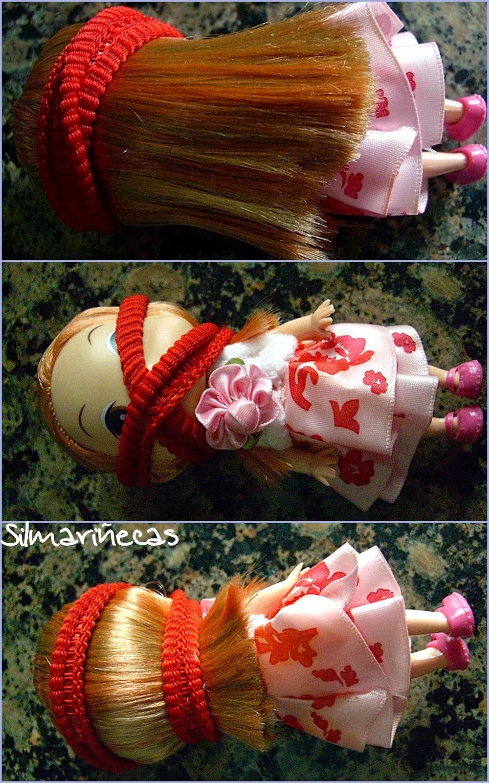 cómo cortar el pelo de las muñecas