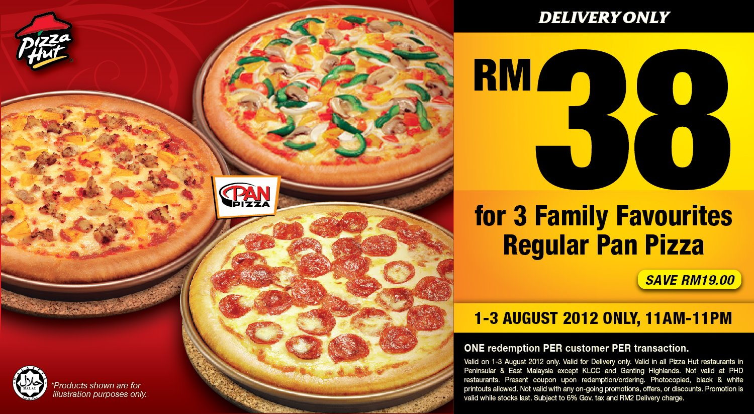 Free delivery coupon pizza hut