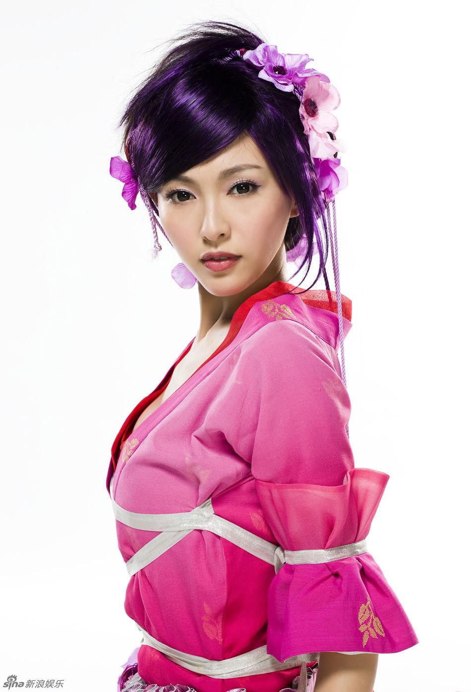 Китайские прически для девушек фото