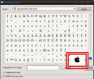 Cara Ketik Logo Apple di Windows dan Mac